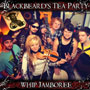 The cover of 'Whip Jamboree', the upcoming 3rd CD from concert / ceilidh band Blackbeard's Tea Party